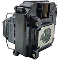JTL Replacement lamp for Epson Projector EH-TW5900 EH-TW5910 EH-TW6000 EH-TW6000W EH-TW6100 H421A H450A PowerLite HC 3010 PowerLite HC 3010e PowerLite HC 3020 PowerLite HC 3020e (