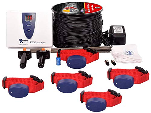 Underground Electric Dog Fence Premium - Standard Dog Fence System for Easy Setup and Superior Longevity and Continued Reliable Pet Safety - 5 Dog | 2500 Feet Standard Dog Fence Wire