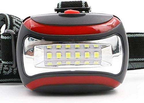 GPWDSN Headlamp Mini 6LED Lighthouse 3 Lighthouse Front Mode Torch Flashtorch of Waterproof Lighting,headlamp for camping