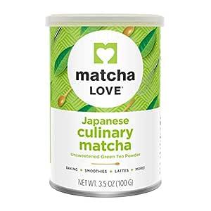Matcha Love Japanese Culinary Matcha Green Tea Powder, 3.5 Ounce