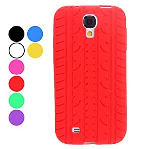 Tire Design Soft Case for Samsung Galaxy S4 I9500 (Assorted Colors) , Green