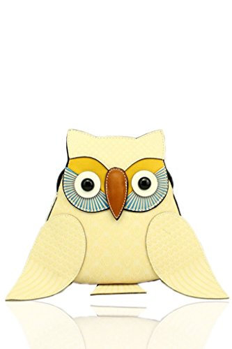 Animal Novelty Bear Women's Women Shape LeahWard Cream Cross For Elephant Holiday Bags Handbag Bag Girls Body Owl Owl 58Idqqw