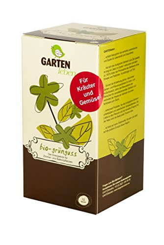Bio Gemüse und Kräuterdünger - Tee für Pflanzen