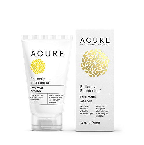 Acure Brilliantly Brightening Face Mask, 1.7 Fl. Oz. (Packaging May (1.7 Oz Face Toner)