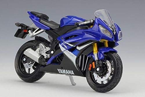 - ZIETNAL Diecasts & Toy Vehicles - 1:18 Yamaha YZF-R6 YZF R6 Blue Motorcycle Bike DIECAST Model Toy 1 PCs