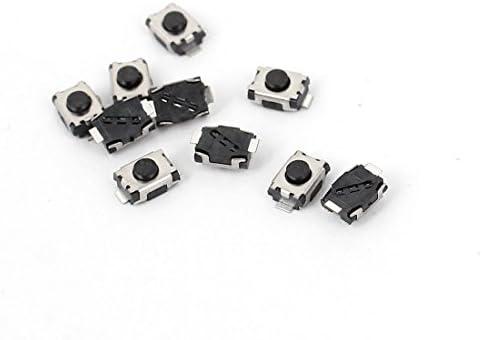 10pcs Smd Smt Momentary Mini Tact Tactile Push Button Switch 3x4x2mm Baumarkt
