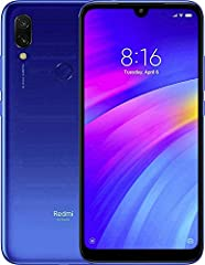 """Xiaomi Redmi 7 Unlocked Android GSM 4G LTE Smartphone 12MP+2MP Dual Rear Camera - 8MP Front Camera - 32GB Memory - 6.26"""" Display COLOR = Choose Color Above MODEL = Redmi 7 Redmi 7 - Fastest in class. Power that lasts. 6.26"""" HD+ Immersive Dot ..."""