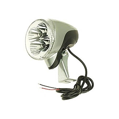 LED 24 Volt Headlight (4-bulbs) for Electric Scooter or Bicycle