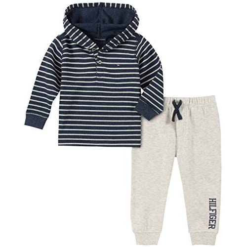 Tommy Hilfiger Boys Toddler 2 Pieces Hooded Pant Set