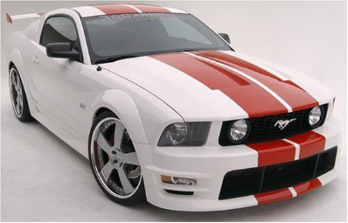 3dCarbon 691040 05-09 Ford Mustang Boy Racer 11pc Ground Effects Kit w/ Ducktail Spoiler Mustang Boy Racer