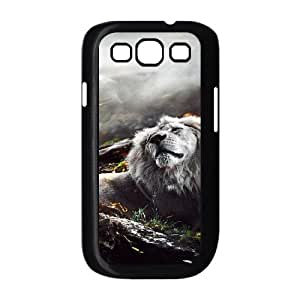 Samsung Galaxy S 3 Case, Jungle Lion Case for Samsung Galaxy S 3 black lms317589441