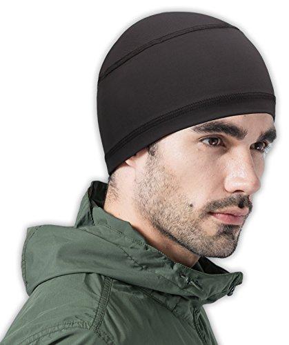 Tough Headwear Cooling Cap/Helmet Liner/Skull Cap/Running Beanie – Ultimate Performance Moisture Wicking. Fits under Helmets – DiZiSports Store