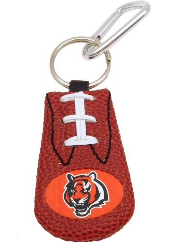 (GameWear Cincinnati Bengals Classic NFL Football Keychain)