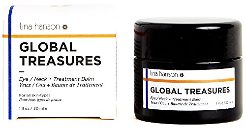 Hanson Carbon (Lina Hanson - Organic Global Treasures (Eye / Neck + Treatment Balm, 1 fl oz / 30 ml))