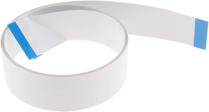 perfk Cable Blanco Piezas Y Accesorios para Impresoras para HP DesignJet 500 800 24 Pulgadas Modelo A1 C7769-60305: Amazon.es: Electrónica