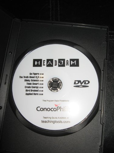 headjam-one-dvd-go-figure-the-truth-about-h20-slinky-science-think-smart-crude-energy-bird-brained-a