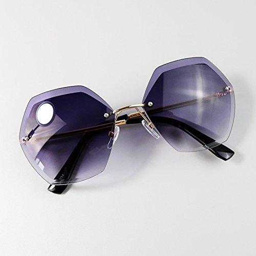 KLXEB Sonnenbrille, Frühling Und Sommer Kinder Sonnenbrille, Mädchen Ohne Rahmen, Uv-Sonnenbrillen, Sonnenbrillen, Baby Sonnenbrille, Violett