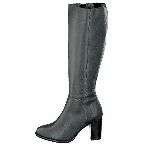 Shoot Zapatos SH-216006C Mujer Piel Caña larga Botas gris