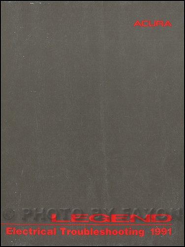 1991 Acura Legend 4 Door Electrical Troubleshooting Manual Original