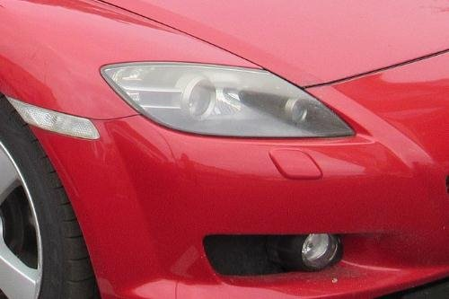 Body & Trim FANFAUTO Carbon Fiber Headlight Cover Eyelids Eyebrows ...