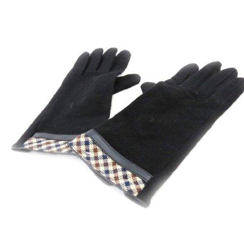 ミシンパラメータ住人[リリーの宝 (Les Tresors De Lily)] (Clothilde コレクション) [J2680] 手袋 ブラック
