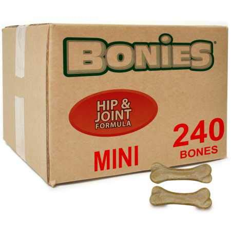 Green Pet Organics BONIES Hip Joint Health Bulk Box Mini 240 Bones