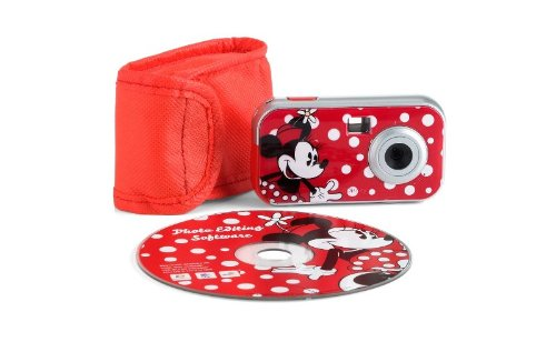 Disney 94010 Minnie Mouse Digital Camera (Red) (Minnie Mouse Pics)