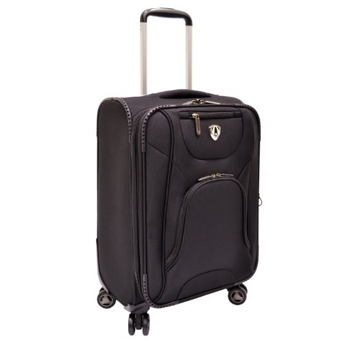 Traveler's Choice Cornwall 21-Inch Spinner Luggage, - Suiter Upright 22