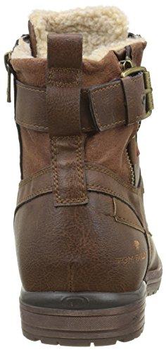 Tom Tailor 1680806, Botines para Hombre Marrón - Braun (Rust)