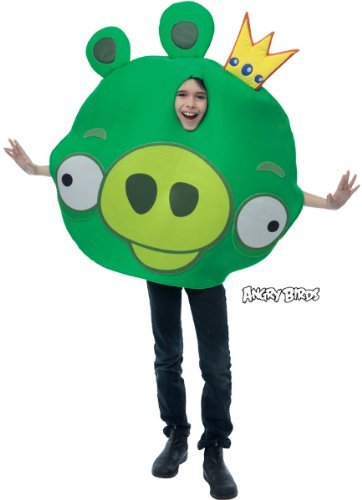 Angry Birds Halloween Pig (Angry Birds King Pig Green)