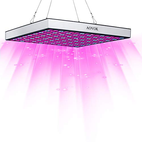 LED Grow Light Bulbs, AOVOK Grow Lamp Plant Light Panel Full Spectrum for Plants, Indoor Garden, Vegetable, Flowers, Fruits, Succulents, Seedlings Starting by AOVOK