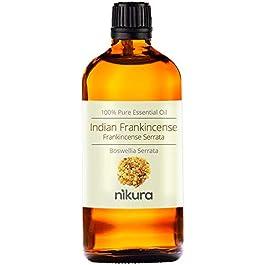 100% Pure Indian Frankincense (Serrata) Essential Oil 10ml, 50ml, 100ml (100ml)