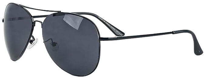 Pilotenbrille Gafas de Sol tipo Aviador Gafas de sol Negro ...