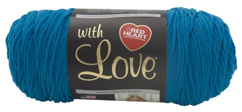 Red Heart with Love Yarn, Blue Hawaii
