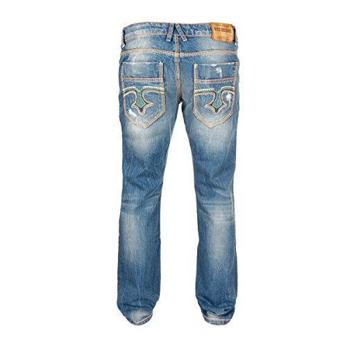 Redbridge Jeans Celebrate Denim Blue, Farbe:Blue;Hosengröße:W30 / L34