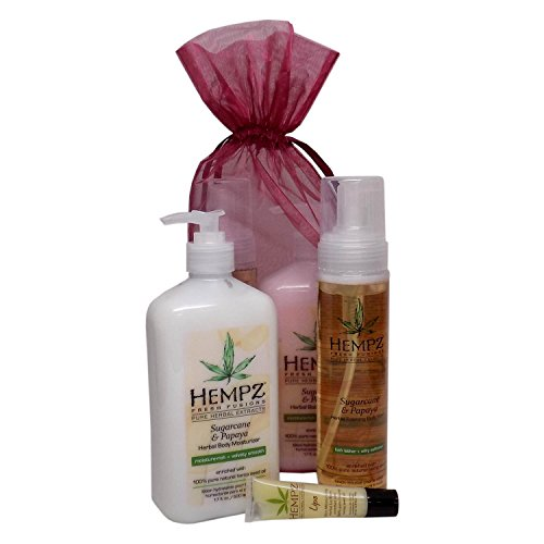 Hempz SUGARCANE & PAPAYA GIFT SET - 3 pc.