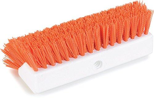 Carlisle 4042324 Hi-Lo Floor Scrub Brush, Orange (Pack of 12) by Carlisle (Image #6)