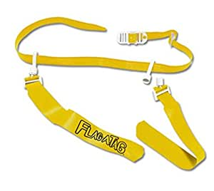 Flag-a-Tag Sonic Boom Flag Belts, Gold, 42-inch (One Dozen)