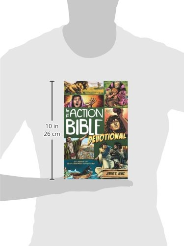 The Action Bible Devotional: 52 Weeks of God-Inspired Adventure (Action Bible Series) by David C Cook (Image #2)