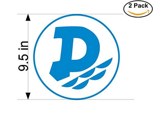 fan products of Dunav Ruse Bulgaria Soccer Football Club FC 2 Stickers Car Bumper Window Sticker Decal Huge 9.5 inches