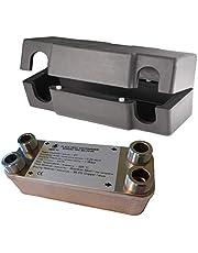 Intercambiador de placas NORDIC TEC Ba-12-20, max. 45kW, 20 placas