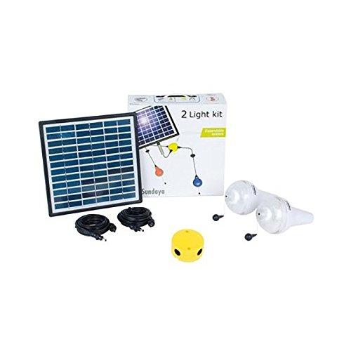 Kit solar-Beleuchtung 2Ulitium 200SUNDAYA