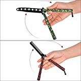 AIFUSI Practice Butterfly Knife Trainer, 2 Pack