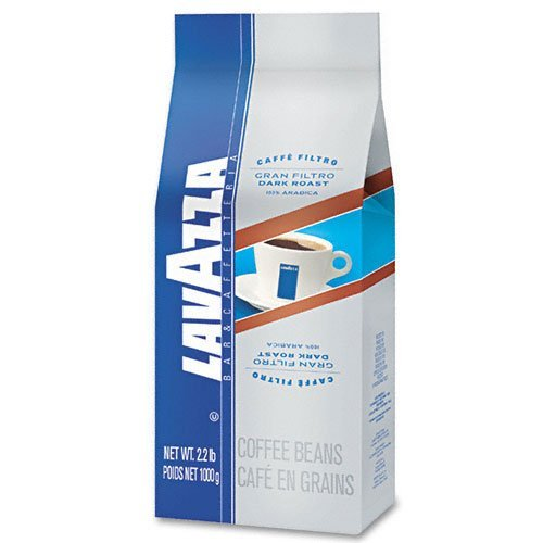Lavazza LAV2440 Bar/Cafeteria Gran Filtro Dark Roast Coffee Beans (Pack of 6) by Lavazza