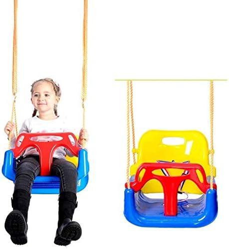 Xyy 3 En 1 Columpios Infantiles for Bebés Niños con Silla Convertible en Asiento de Seguridad, Carga Máx. 150 KG, for Casa Jardín Interiores o Exteriores: Amazon.es: Hogar