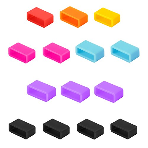 UPC 718046565192, Getwow 14-Pack Mixed-Color Silicon Fastener Ring for Fitbit Charge Wireless Activity Wristband and Fitbit Charge HR Wireless Activity Wristband