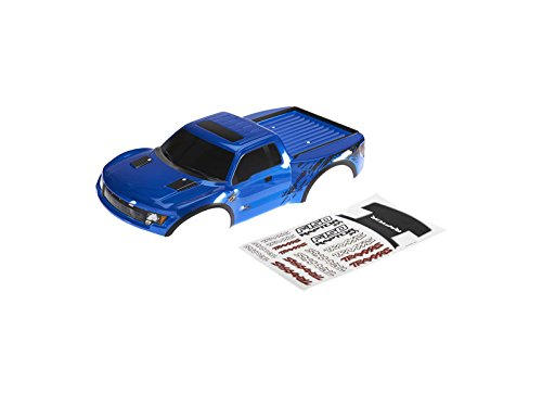 Traxxas 1/10 2WD Ford Raptor Body, Blue with Decals