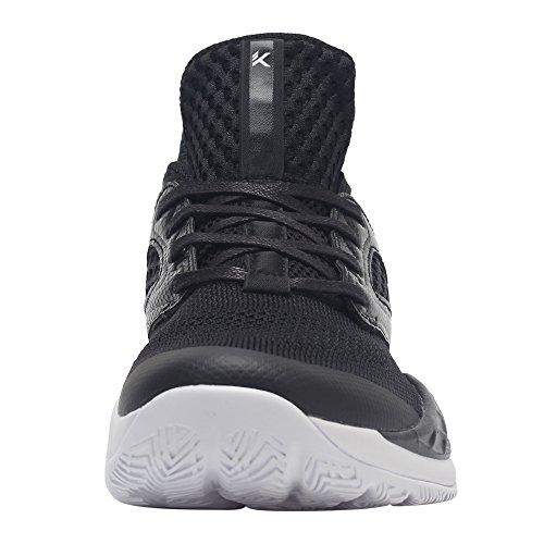 Anta Ljus Mens Basketsko Utbildning Sneaker Svart
