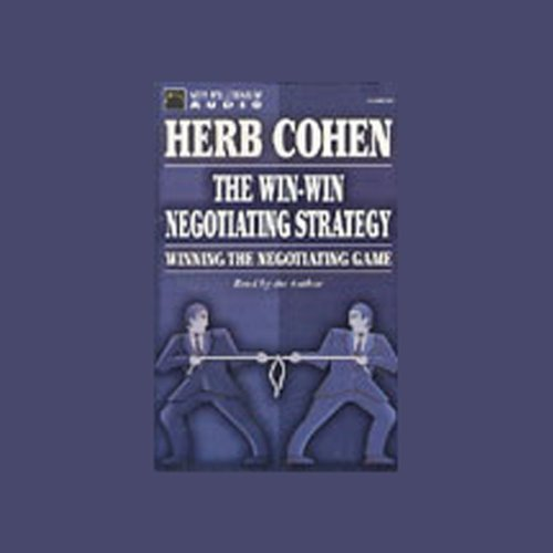 Bargain Audio Book - The Win Win Negotiating Strategy