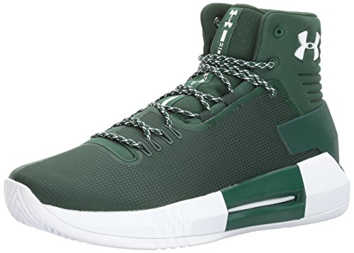 Under Armour Men's Team Drive 4 Basketball Shoe, (301)/Forest Green, 8.5